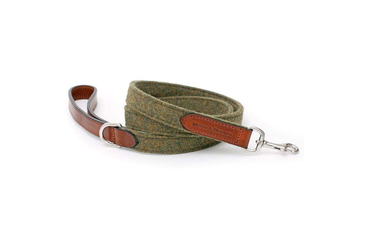 Lead - Forrest Green Mutts & Hounds Dog Lead