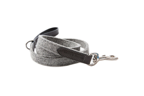 Lead - Grey Tweed Mutts & Hounds Dog Lead