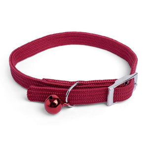 Red Nylon Cat Collar