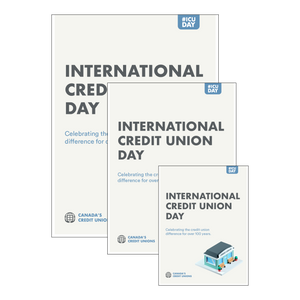 International Credit Union Day - Print Ready Posters