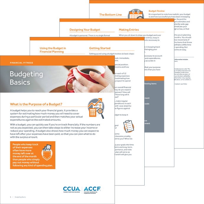 Budgeting Basics - Digital Brochure