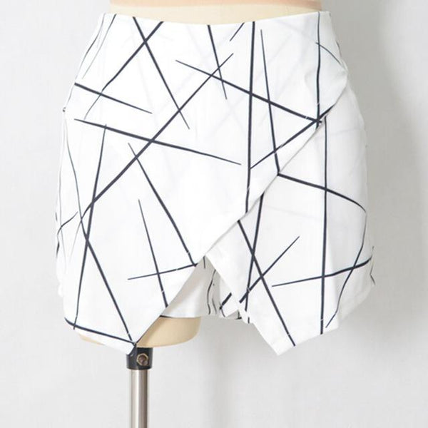 SHARP LINES LAYERED SKORT