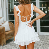 Chiffon Bohemian Beach Party Dress