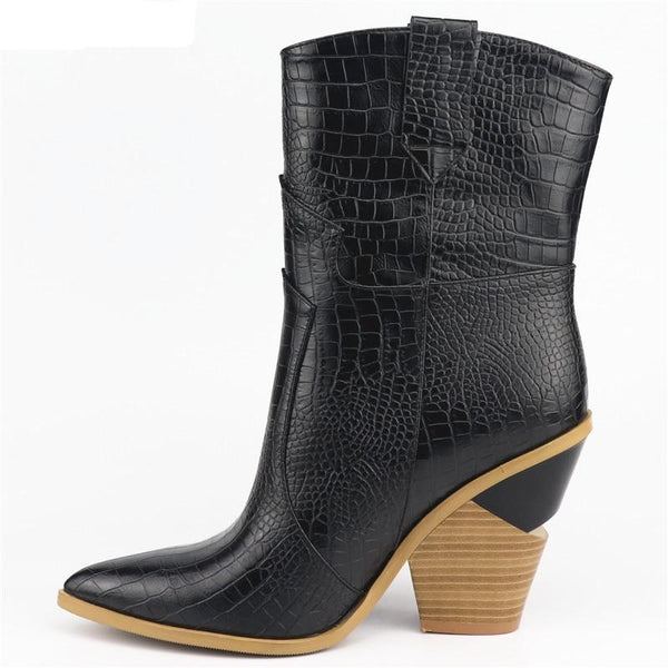 HOT 2019 Pointed Toe Ankle Boots