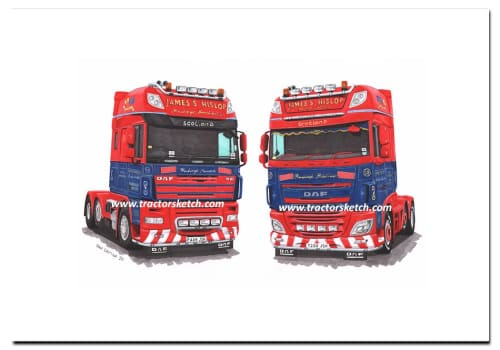 Hislop Haulage DAF Trucks - Limited Edition