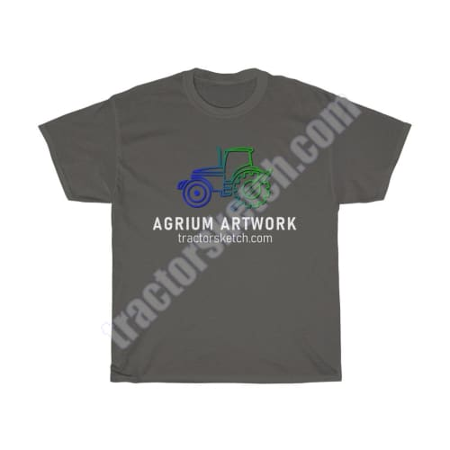 Agrium Artwork Men's T-Shirt - tractorsketch.com