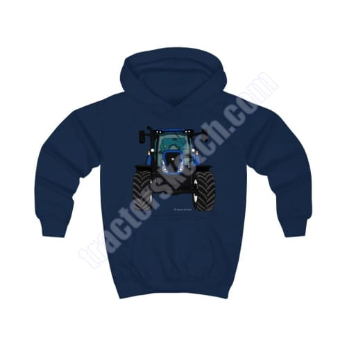 Blue Tractor Kids Hoodie / New Holland