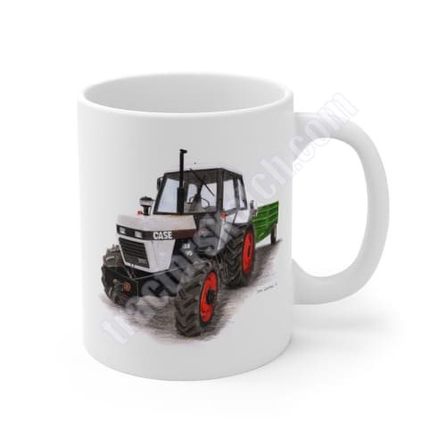 Case 1394 & Fraser Trailer Mug 11oz / IH - David Brown -
