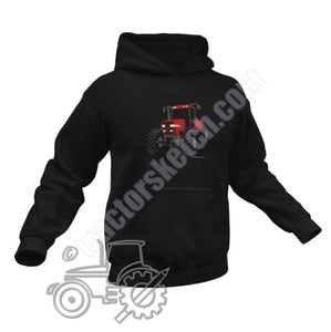 Men's Unisex Case IH Magnum Tractor Hoodie Jumper Silhouette Tractor collection