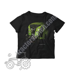 Claas Arion Kids Softstyle T-Shirt - tractorsketch.com