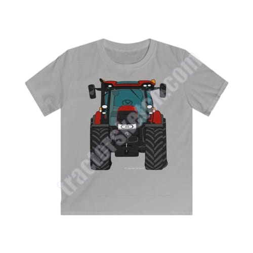 Dark Red Tractor Kids T-Shirt / Case IH - T-shirts