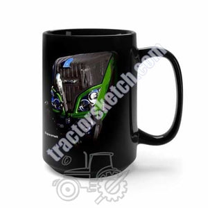 Fendt 724 Tractor Black Mug Coffee Gift Shop 15oz