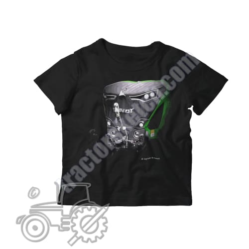 Fendt 942 Kids Softstyle T-Shirt - tractorsketch.com