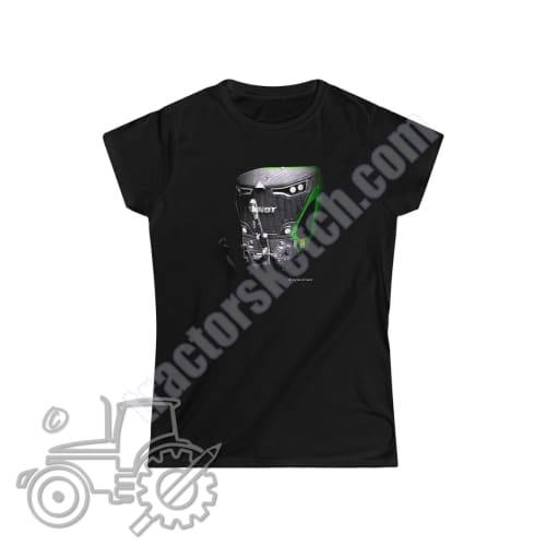 Fendt 942 Ladies Softstyle T-Shirt - tractorsketch.com