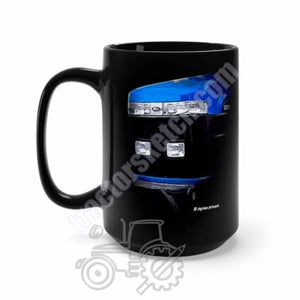 Ford New Holland 70 Series Tractor Black Mug Coffee Gift Store 15oz