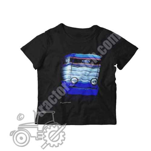 Ford TW-35 Kids Softstyle T-Shirt - tractorsketch.com