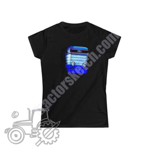 Ford TW-35 Ladies Softstyle T-Shirt - tractorsketch.com