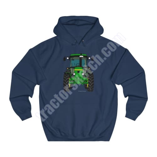 Men's Unisex John Deere 2850 Series 50 Tractor Hoodie Jumper Shadow Tractor collection