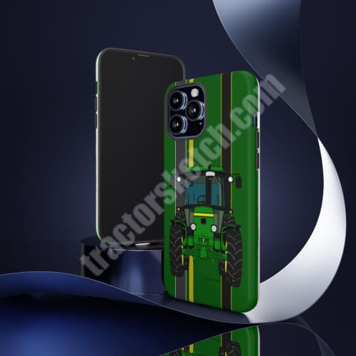 Mobile Phone Case - John Deere Tractor 50 Series iPhone Samsung Cell Holder Cases Green Tractor #3