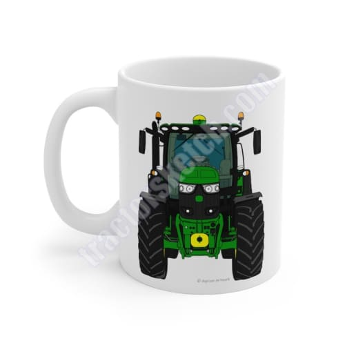John Deere Tractor Mug 6R, 6155R, 6195R Mugs Coffee gift for sale