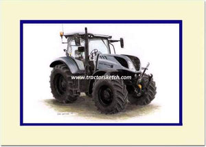 New Holland T7.210 Grey - tractorsketch.com