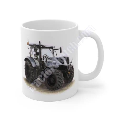 New Holland T7.210 Grey Mug 11oz / Mugs - Tractor