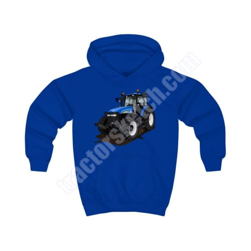 New Holland TM TM155 Tractor Kids Hoodie hoodies children sweatshirt