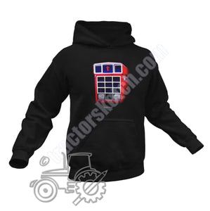 Men's Unisex International 1455 Tractor Hoodie Jumper Shadow Tractor collection