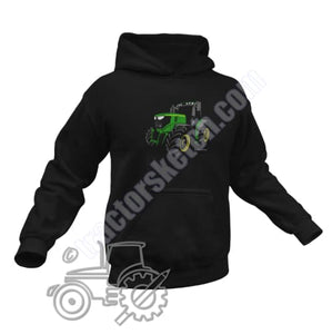 Men's Unisex John Deere 6250R Tractor Hoodie Jumper Silhouette Tractor collection
