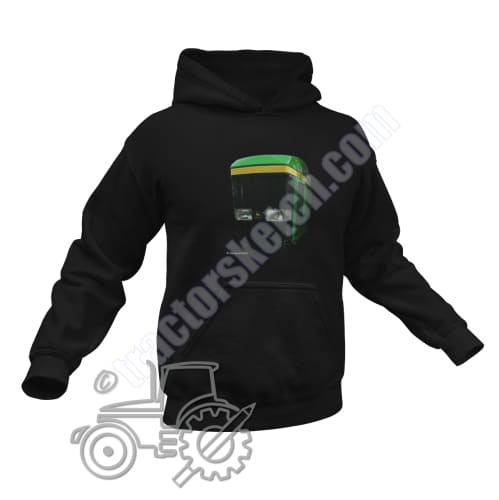 Men's Unisex John Deere John Deere 7810 Tractor Hoodie Jumper Shadow Tractor collection