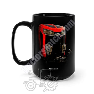 Kubota M7 Black Mug 15oz - Kubota, Mugs