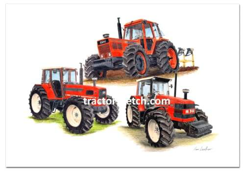 Same Limited Edition Trio - tractorsketch.com