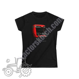 Massey Ferguson 7426S Ladies Softstyle T-Shirt - tractorsketch.com