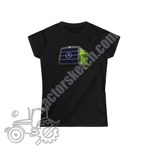 MB-Trac Ladies Softstyle T-Shirt - tractorsketch.com