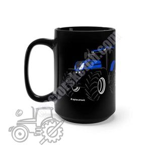 New Holland T7 Silhouette Black Mug 15oz - Mugs,
