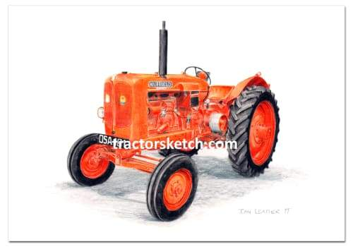 Nuffield DM4 - tractorsketch.com