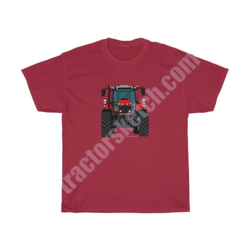 Red Tractor Men's Classic Fit T-Shirt / Massey Ferguson