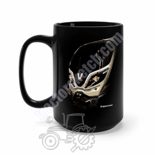 Valtra T Series Tractor Black Mug Coffee Gift Store 15oz