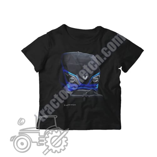 Valtra N Series Kids Softstyle T-Shirt - tractorsketch.com
