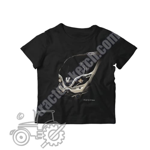 Valtra T Series Kids Softstyle T-Shirt - tractorsketch.com