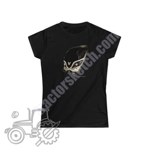 Valtra T Series Ladies Softstyle T-Shirt - tractorsketch.com
