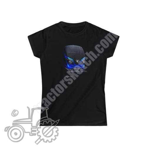 Valtra N Series Ladies Softstyle T-Shirt - tractorsketch.com
