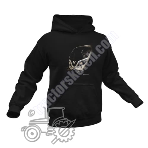 Men's Unisex Valtra T Series Tractor Hoodie Jumper Shadow Tractor collection