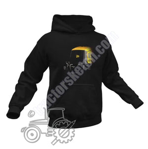 Men's Unisex JCB Fastrac 2135 Tractor Hoodie Jumper Silhouette Tractor collection