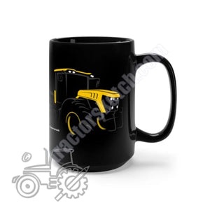 Yellow Fastrak 4000 Series Silhouette Black Mug 15oz -