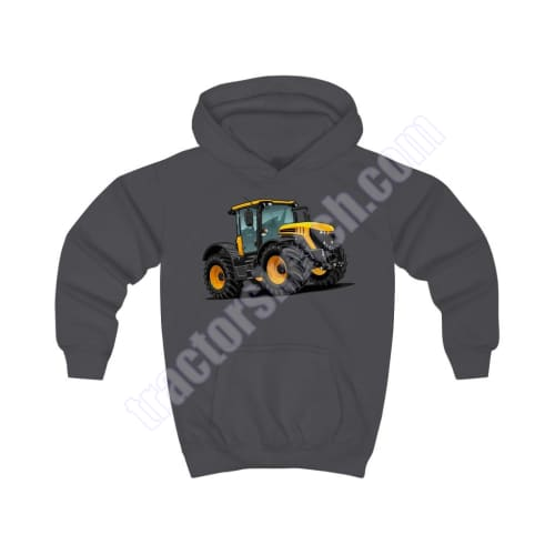 JCB Fastrac 4220 Tractor Kids Hoodie #2 - Various colours