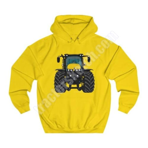 Men's Unisex JCB Fastrac 4220 Tractor Hoodie Jumper Cartoon Tractor collection