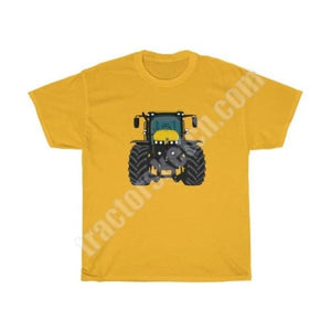 Yellow Tractor Men's Classic Fit T-Shirt / JCB - Fastrac