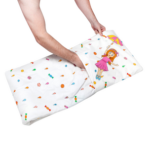 Candy Rain Quillow Blanket