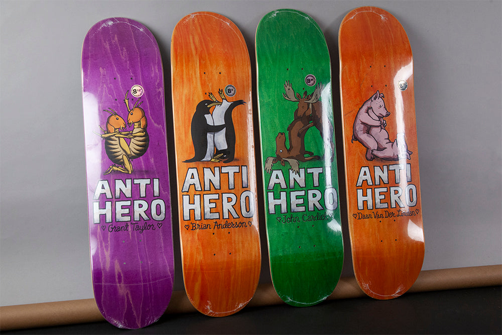 New Decks & Completes from Anti Hero Skateboards